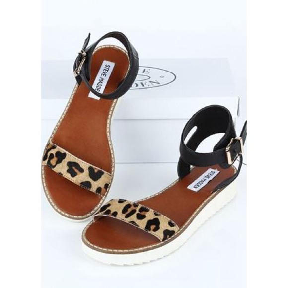 Steve Madden Leopard Sandals | Poshmark