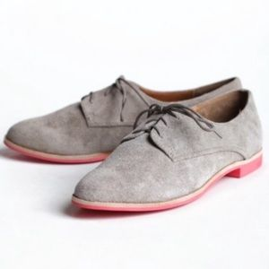 Mossimo Supply Co. Shoes - Gray Oxford Flats