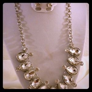 Jewelry - Diamond necklace with earing