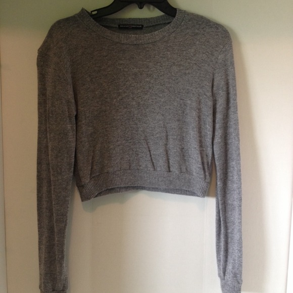 70% off Brandy Melville Sweaters - NWOT Brandy Melville grey ...