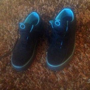 VANS Black and Blue REDUCED