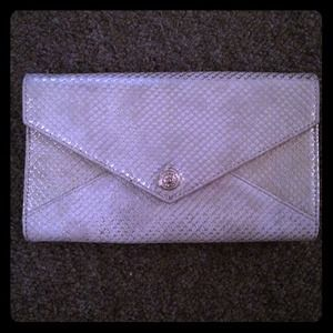 Gold Rebecca minkoff wallet/ clutch