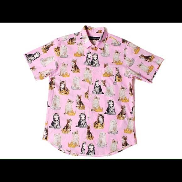 09aaae2d2251 Odd Future Golf Wang pink cat tee. M 5404c5d87819501e202bd1e3