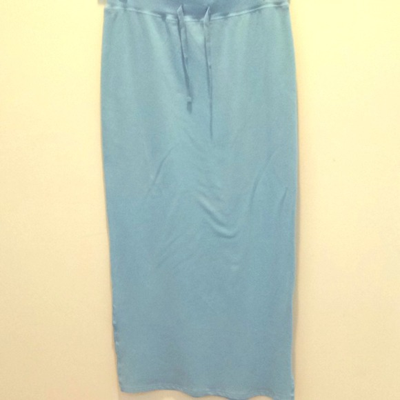 75 navy dresses skirts baby blue jersey maxi