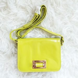 Bright Green Crossbody Bag (ASOS)