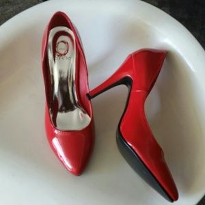 Holiday Red foot wear