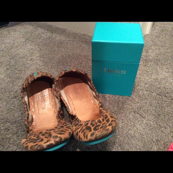 Tieks Shoes | Tieks Leopard Print Flats