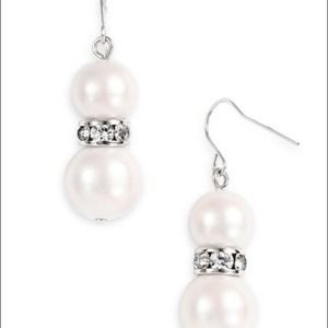 NWT! Kate Spade Metropolitan Pearls Drop Earrings