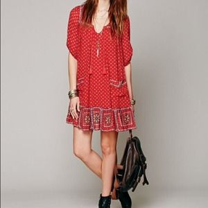 ❤️SOLD❤️Free People Penny Lane Chiffon Dress XS