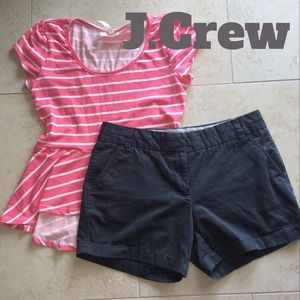 J. Crew Pants - J.Crew Grey Chino Shorts