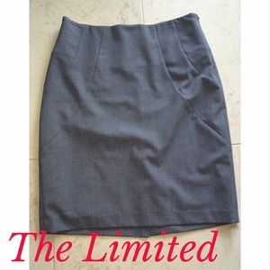 The Limited Dresses & Skirts - The Limited Grey Pencil Skirt