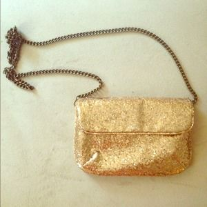 J. Crew sequin clutch