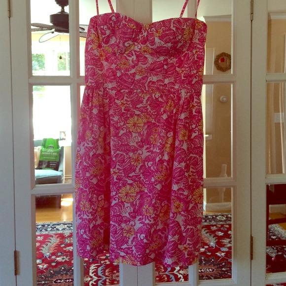 9fb99ead86e54f Lilly Pulitzer Dresses & Skirts - Lilly Pulitzer Georgie Chum Bucket Dress