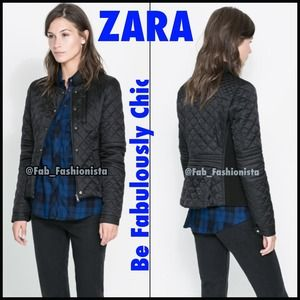 Zara Jackets & Blazers - 💕HOST PICK 1/11/15💕ZARA Black jacket Coat