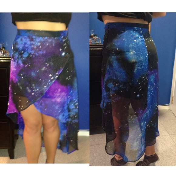 50 forever 21 dresses skirts galaxy high low