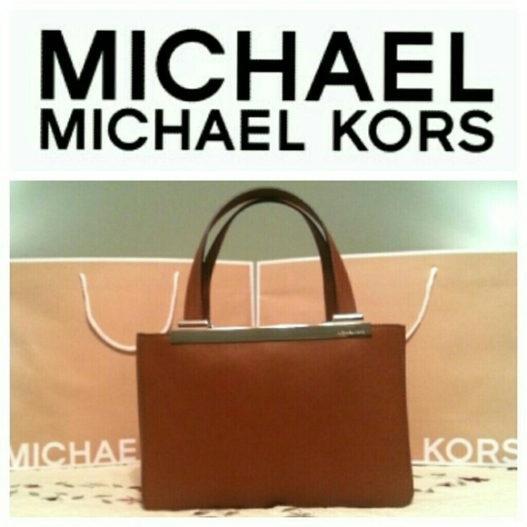 Michael Kors Handbags - Michael Kors Brown Medium Tote - NWT!