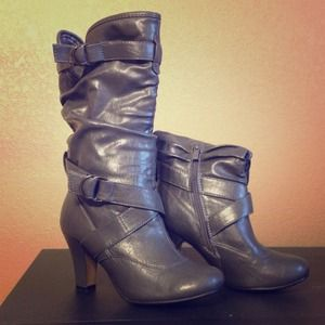 Boots - Grey boots