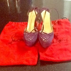 Christian Louboutin % Authentic. Like New!!