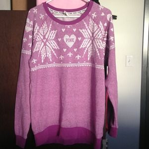 50% off PINK Victoria's Secret Sweaters - VS Pink full zip hoodie ...