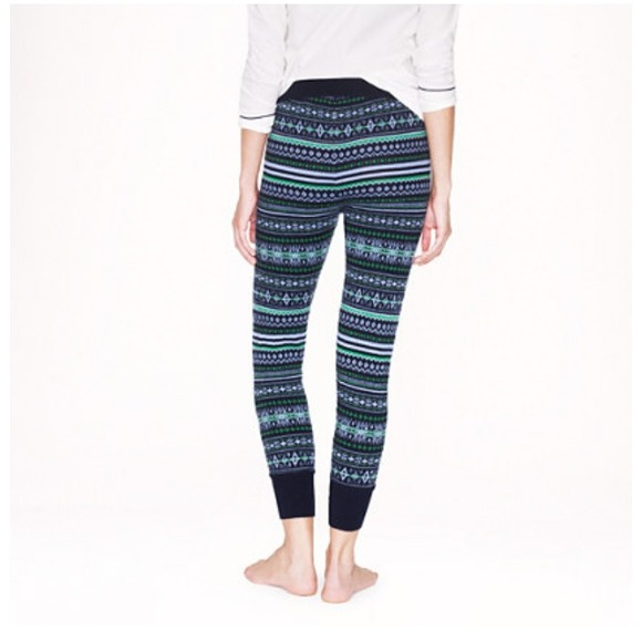 29% off J. Crew Pants - J.crew fair isle leggings from Padma's ...