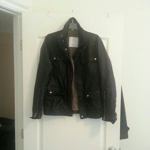 Men's ZARA Faux Leather Jacket