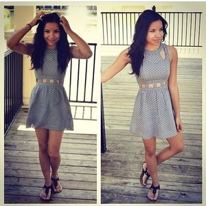 H&M Dresses - H&M Cut-Out Dress