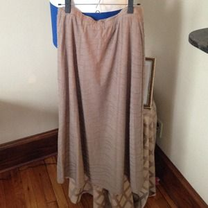 Dresses & Skirts - Beige Maxi Skirt