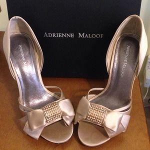 Adrienne Maloof Shoes - NIB Adrienne Maloof Yalissa Pumps - Size 8.5