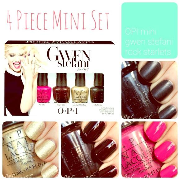 Gwen Stefani for OPI Other   Mini Polish Set Rock Starlets   Poshmark