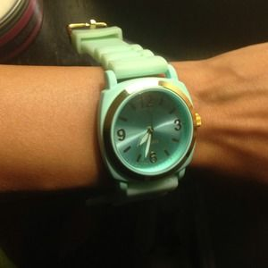 viscid anthropologie rubber jelly watch