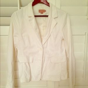 Jackets & Blazers - White corduroy blazer