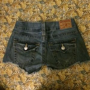 True religion Keira shorts