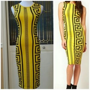 Dresses & Skirts - CLOSING OUT SALE!!! Aztec Print Bodycon Midi Dress