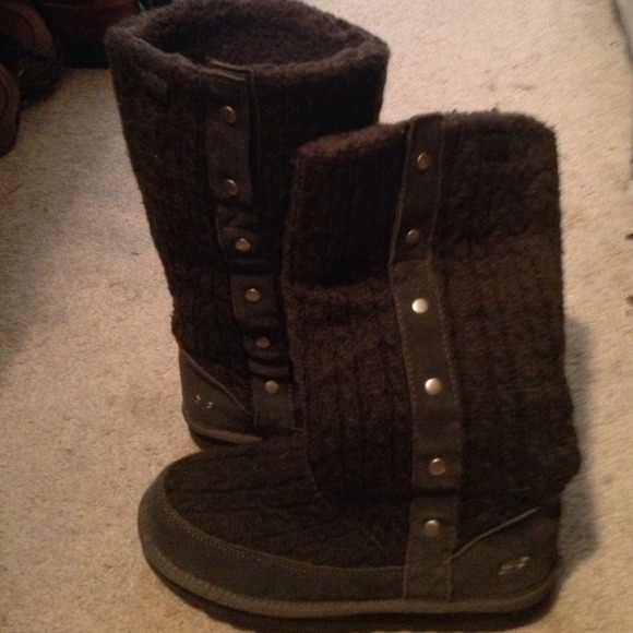 80 skechers shoes sketchers sweater leather boot