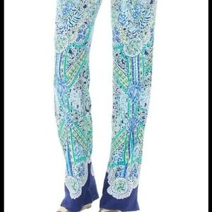 Lilly Pulitzer Philippa Pant in Escape Artist XL