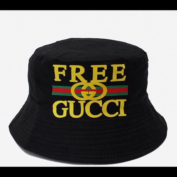 free gucci bucket hat m l from robert 39 s closet on poshmark. Black Bedroom Furniture Sets. Home Design Ideas