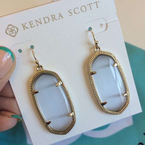 12c707d16 Kendra Scott Elle Earrings in Clear Iridescent. M_5408a8dc1b865a691f42af06