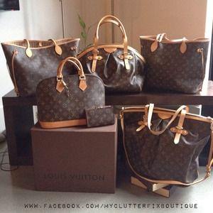 3ad57ca2c2d Louis Vuitton Bags - Louis Vuitton Monogram Collection