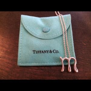 Tiffany & Co. Elsa Peretti Large M necklace