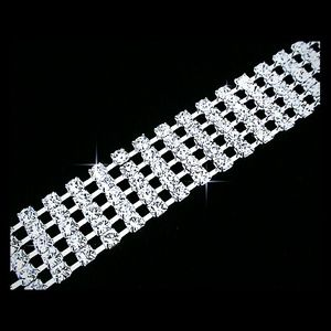 Jewelry - New Fashion 5 Row Crystal  Tennis Bracelet