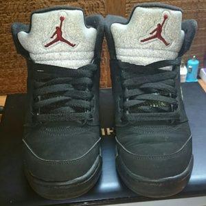 Jordan Retro 5 Metallic 4.5Y authentic