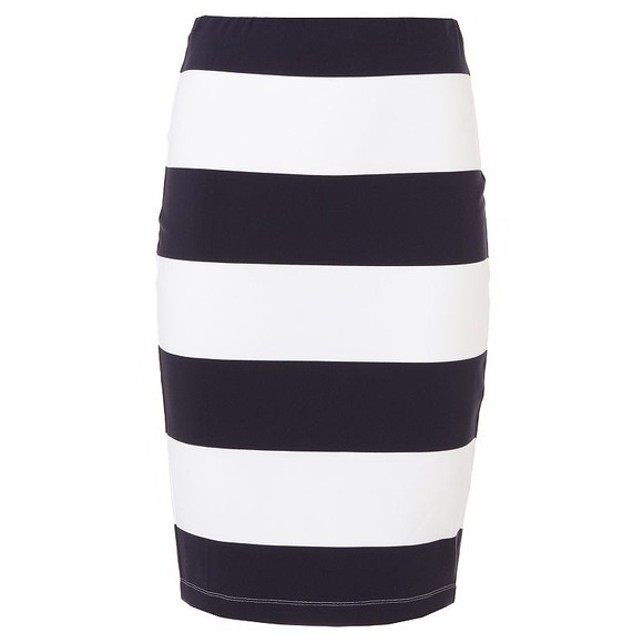 71% off Jennifer Lopez Dresses & Skirts - Navy & White Striped ...