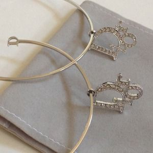 Dior Jewelry - DIOR jewelry - Sexy & Sparkly Hoop Earrings ✨