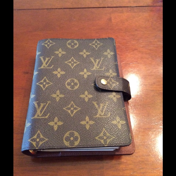 Louis Vuitton Authentic Lv Mm Agenda From Eloina Lina