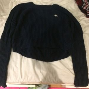 Navy Abercrombie and Fitch Sweater