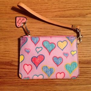 Authentic Dooney and Bourke heart Wrislet
