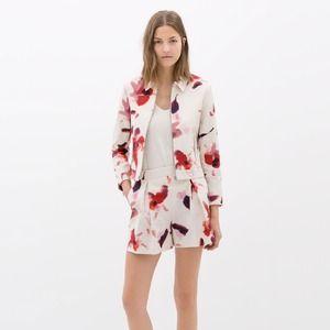 Host Pick Zara Floral Print Blazer