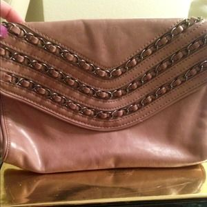 Clutches & Wallets - Boutique style vintage pink leather clutch bag