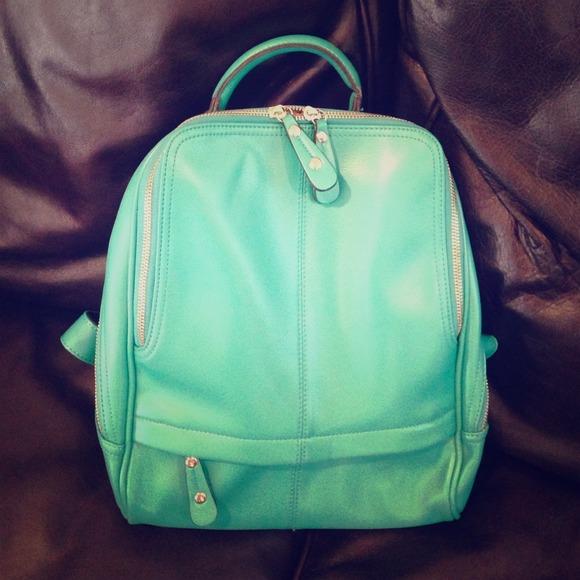 dfab9dbcbd Handbags - Cute Aqua   Teal backpack purse