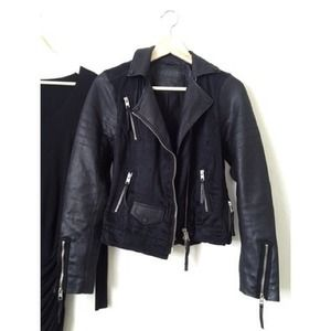 All Saints Jackets & Blazers - ‼️3xHP! Allsaints Landers leather biker jacket